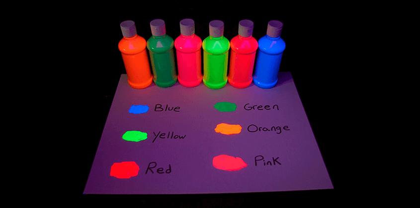 Люминофорная покраска